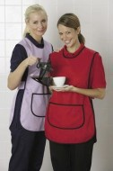 CATERING - Tabbard Apron with Trim TAB205