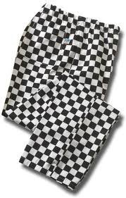 CHEFS – Chessboard Trousers 1