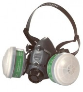 HALF FACE - Mask Class 1 Twin Filter Thermo Plastic (5500)