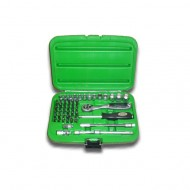 56 PIECE TOOL CASE WITH HEXAGONAL SOCKETS