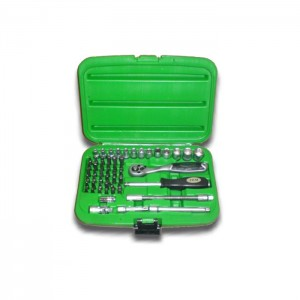 56 PIECE TOOL CASE WITH HEXAGONAL SOCKETS 1