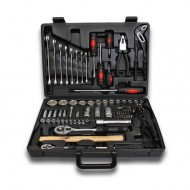 72 PIECE TOOL CASE WITH HEXAGONAL SOCKETS