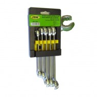 12-POINT OPEN-ENDED RING SPANNER KIT