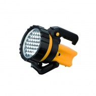 37 LED HAND LAMP WITH SWIVEL HANDLE AND HOLDER