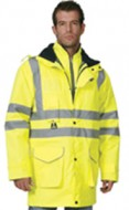 HI-VIS – 4 in 1 Multi Jacket