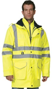 HI-VIS – 4 in 1 Multi Jacket 1