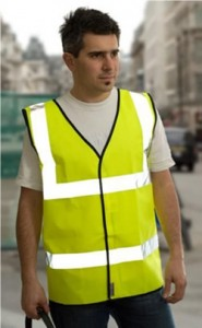 High Visibility Warning Vest – Class 2 1