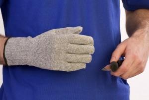 BODYWORKS – Swords Cut 5 Glove Grey Extended Cuff 1
