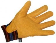 Drivers - Leather Knit Wrist Glove