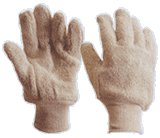 TERRY - Cotton Knit Wrist Glove