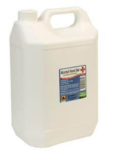 Sanitizer Hand Gel 70% Alcohol 5 Ltr 1