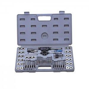 60 PIECE METRIC CASE WITH TAPS AND DIES 1