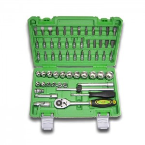 59 PIECE TOOL CASE WITH 3/8″ HEXAGONAL SOCKETS 1