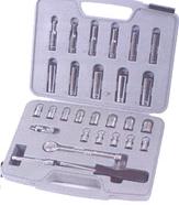 Socket Set 28pc 1/4″ D 1